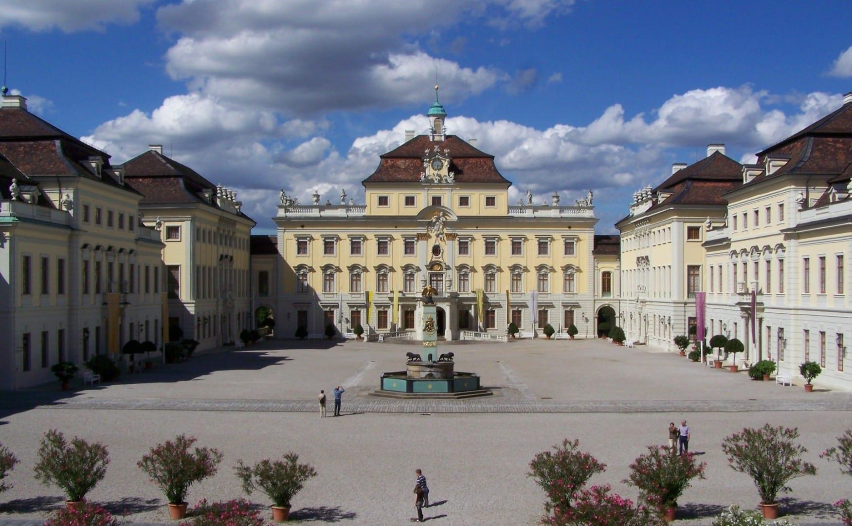 Palacio de Ludwigsburg (Palacio Residencial) Luisburgo Alemania