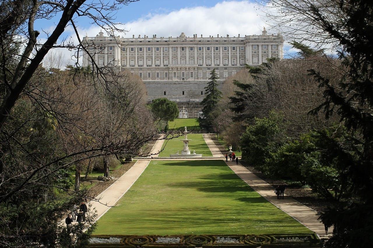 Palacio Real Madrid Arquitectura España