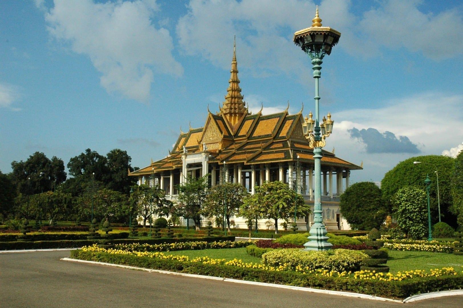 Palacio Real Pnhom Penh Camboya