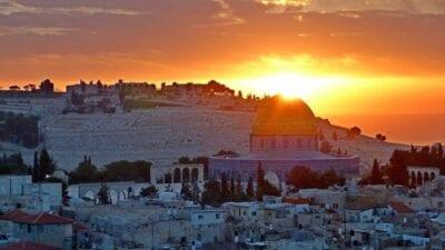 Panorámicas Sunrise Jerusalén Israel
