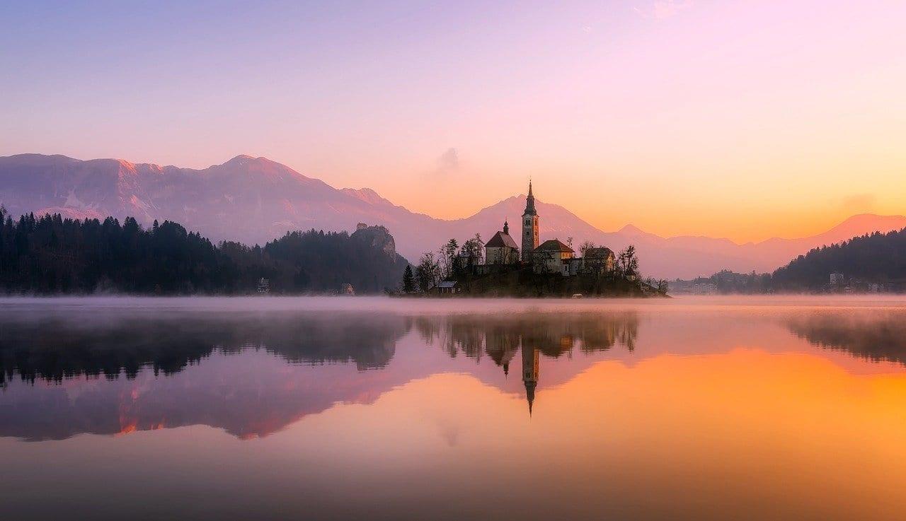 Panorama Bled Isla Eslovenia