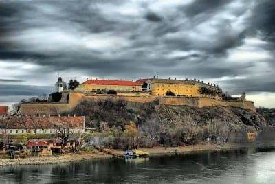 Panorama de la fortaleza de Petrovaradin Novi Sad Serbia