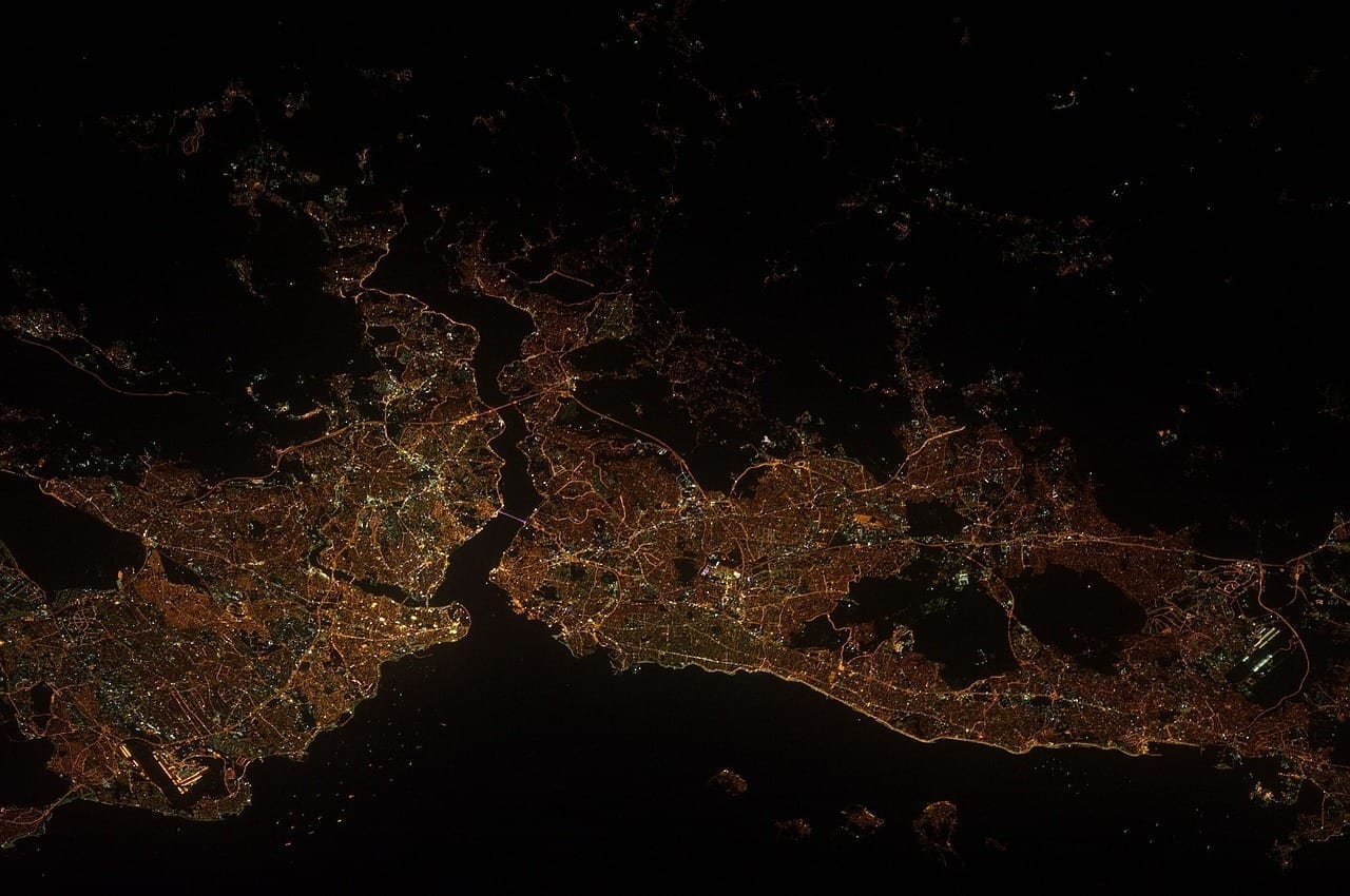 Panorama La Tierra Estambul Turquía