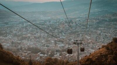 Panorama Sarajevo Bosnia Bosnia y Herzegovina