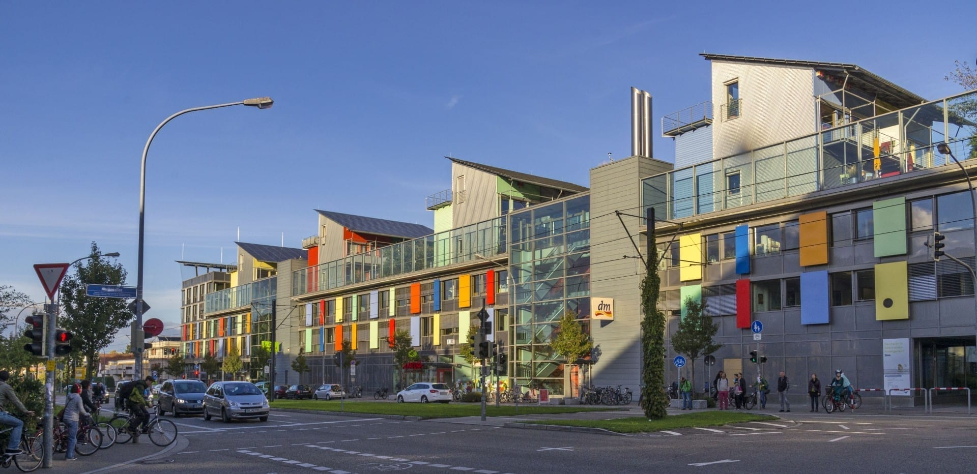 Para una muestra de la Friburgo contemporánea orientada al futuro, visite el distrito de Vauban, famoso por su enfoque en la sostenibilidad. Freiburg im Breisgau Alemania