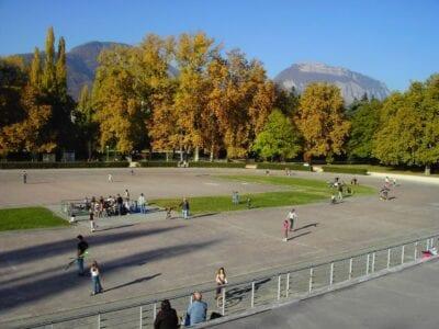 Parc Paul Mistral Grenoble Francia