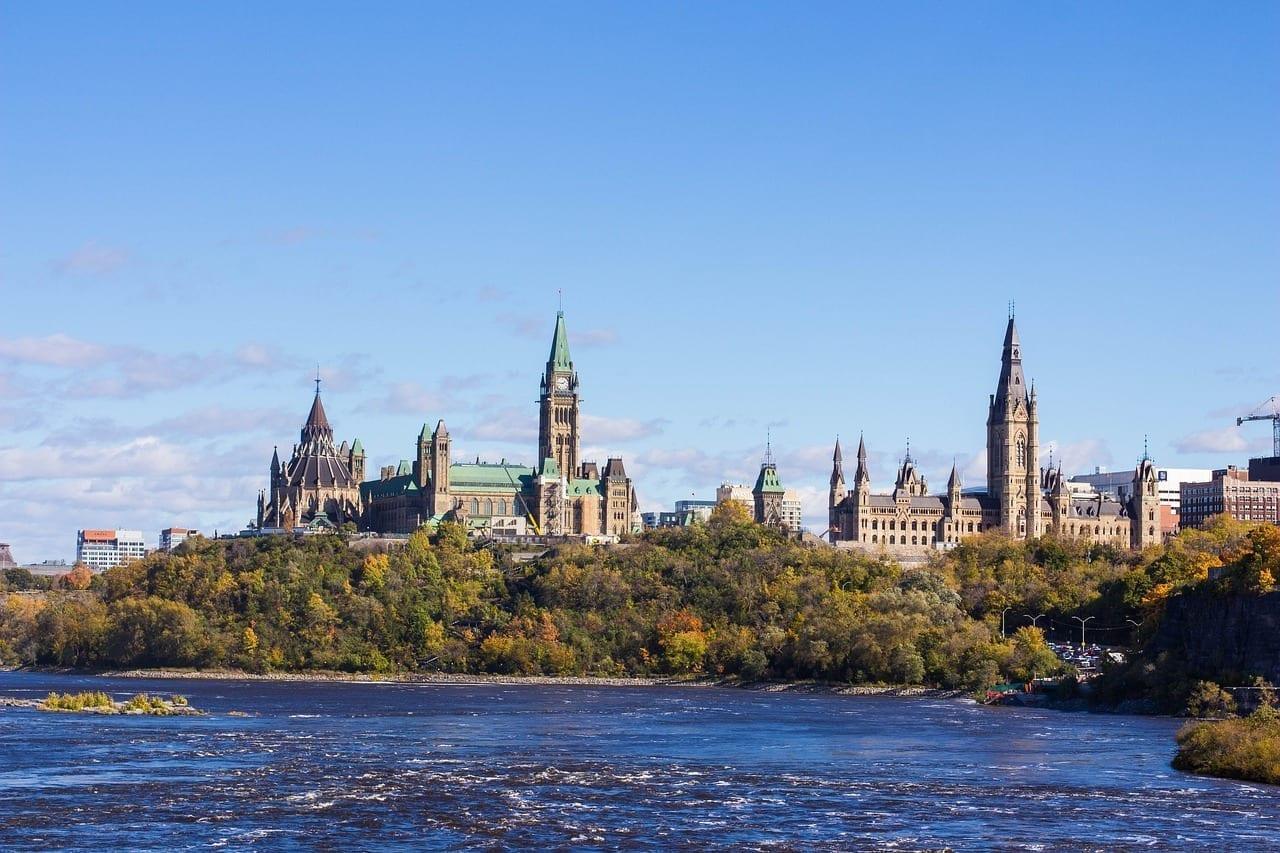 Parlamento Canadá Ottawa Canadá