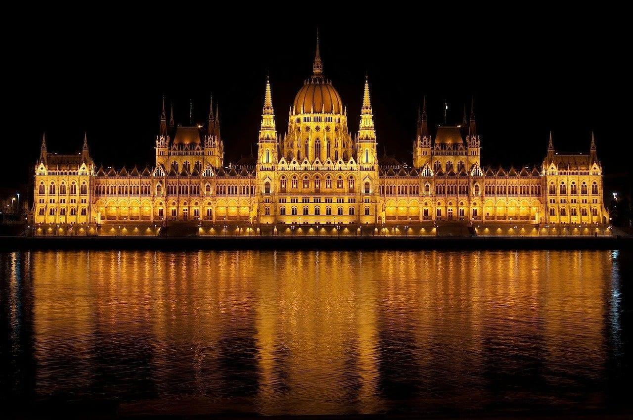 Parlamento Húngaro Budapest Hungría Hungría