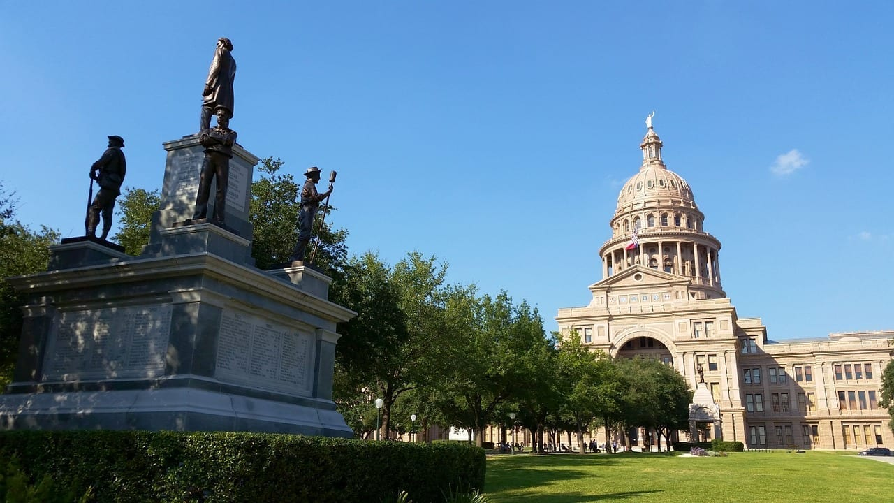 Parque Capitol Hill Austin Tx Gubernamental Estados Unidos