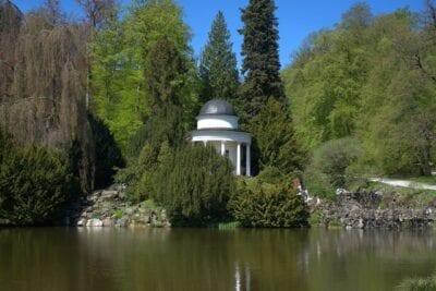 Parque De La Montaña Parque Kassel Alemania