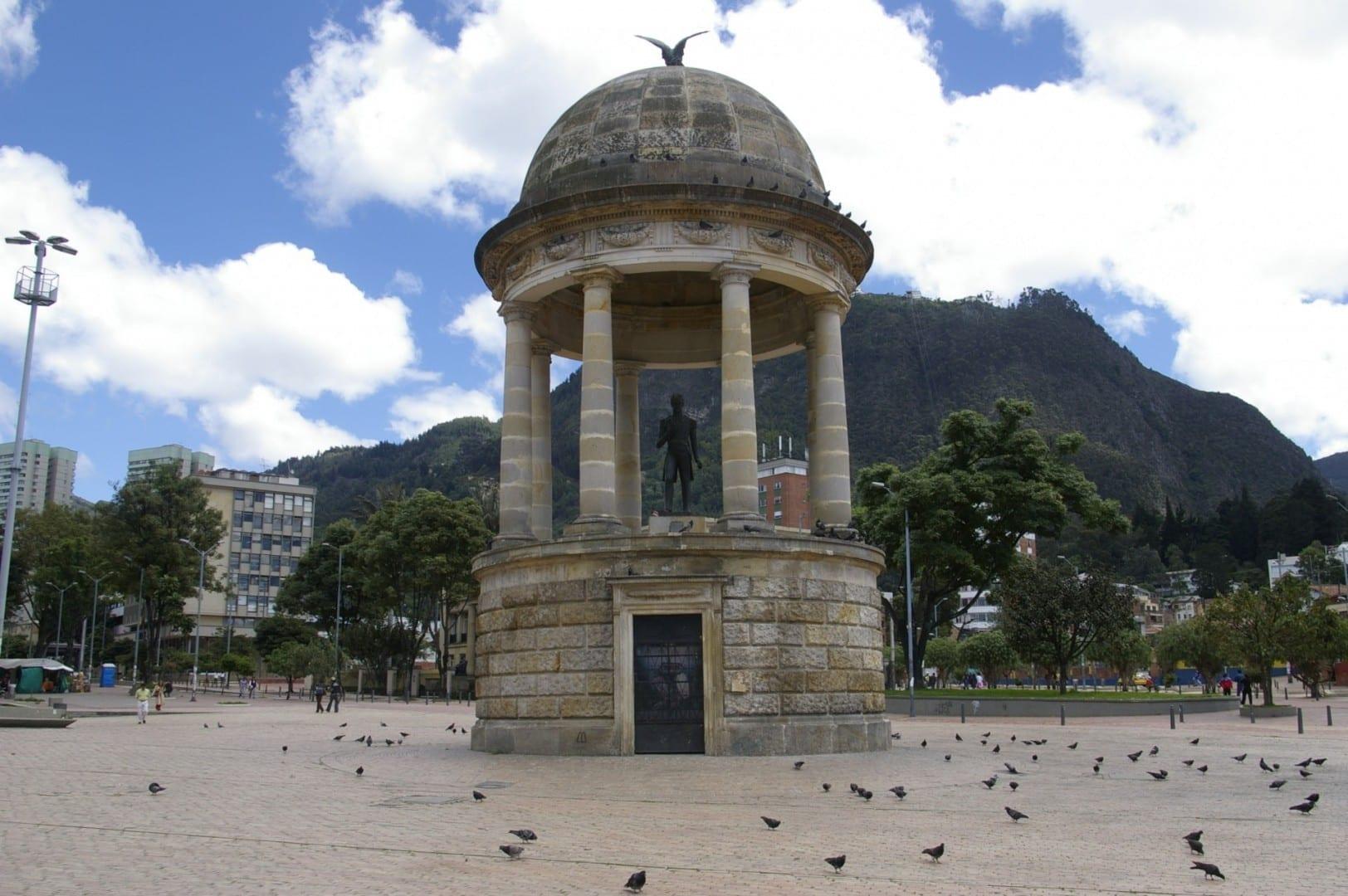 Parque de los Periodistas Bogotá Colombia