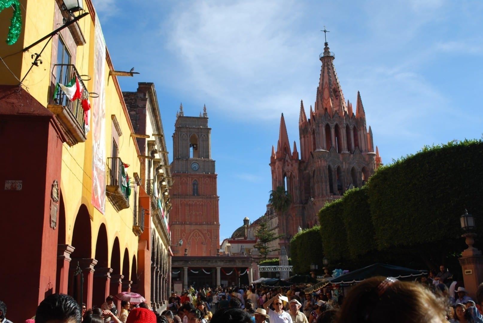 Parroquia de San Miguel San Miguel de Allende México