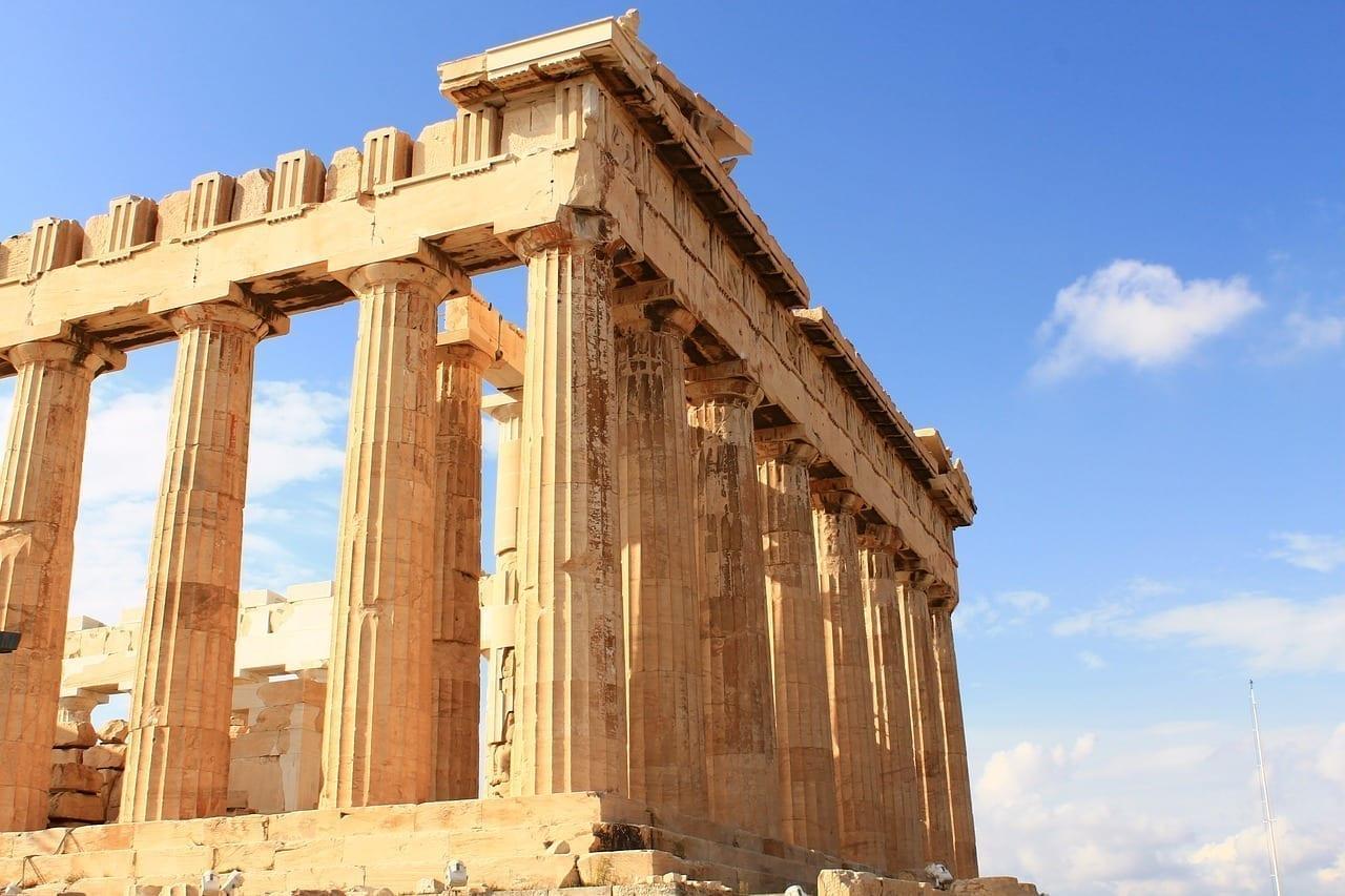 Partenón Acrópolis Atenas Grecia