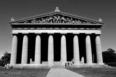 Partenón Parque Centenario Nashville Estados Unidos