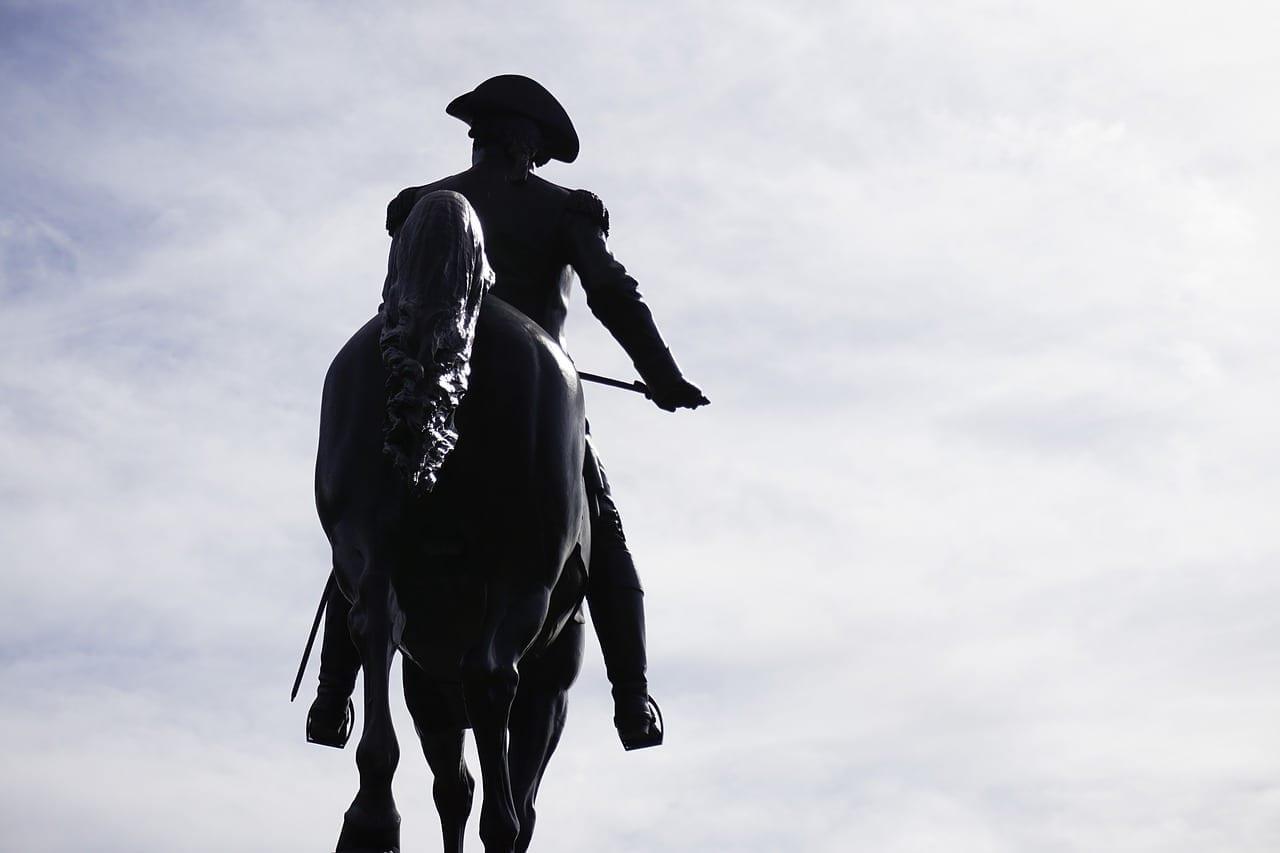 Paul Revere Boston Estatua Estados Unidos