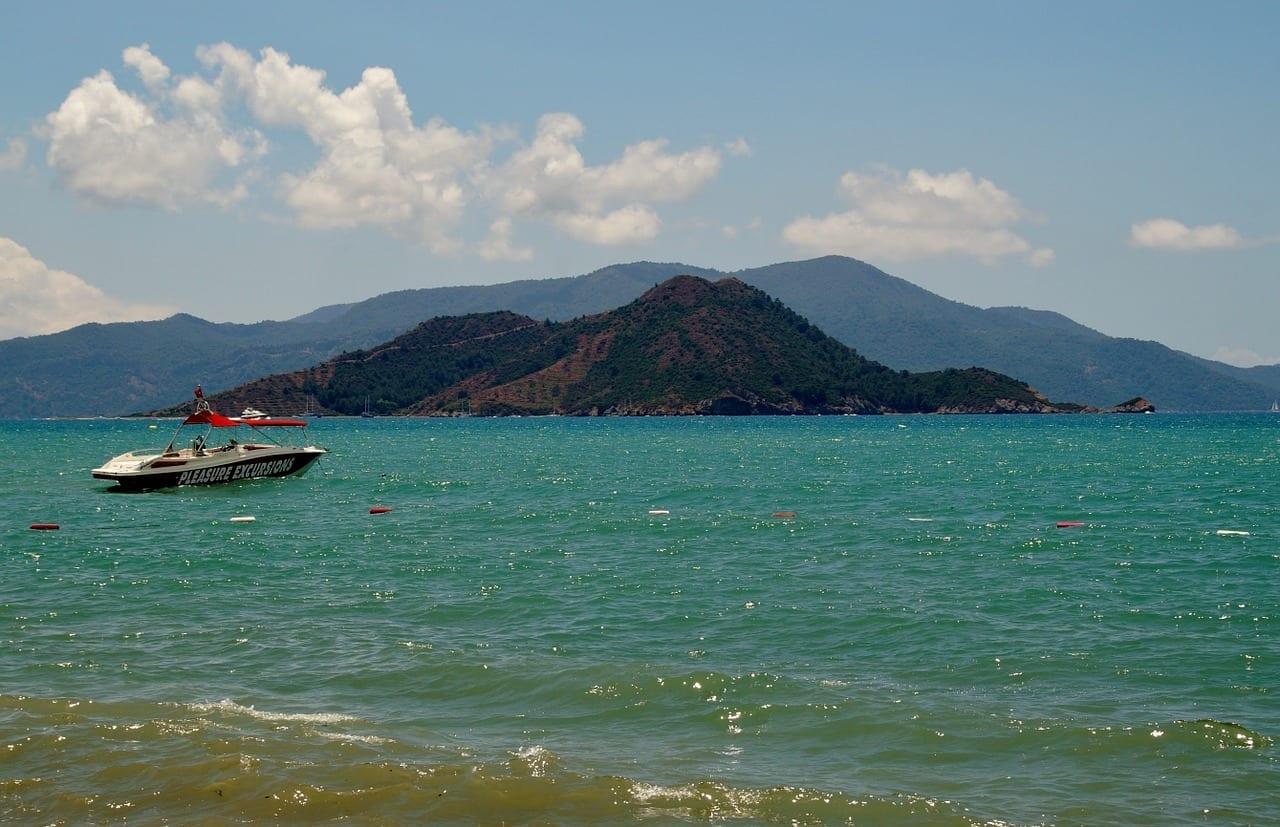 Pavo Marmaris Mar Turquía