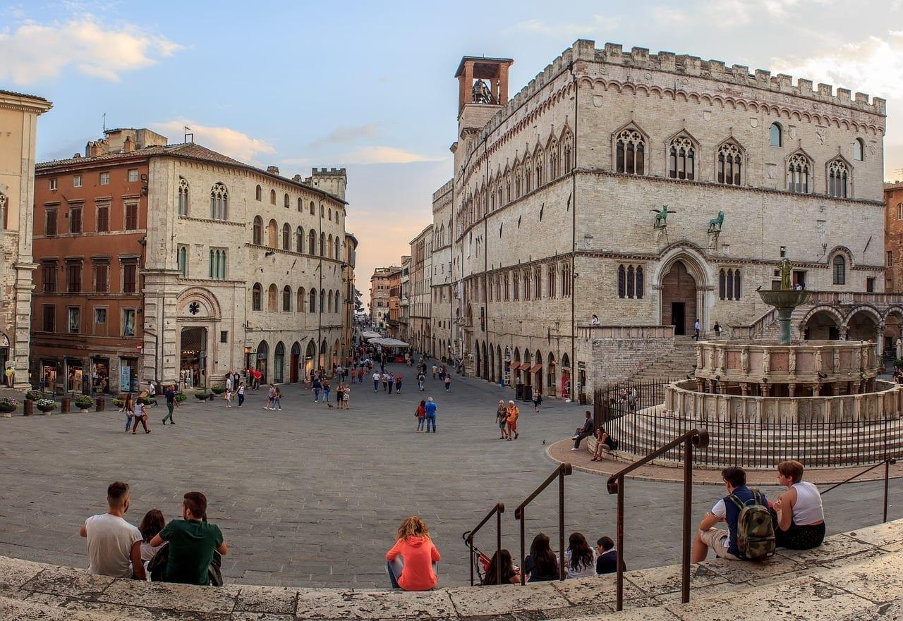 Perugia Umbría Italia Italia