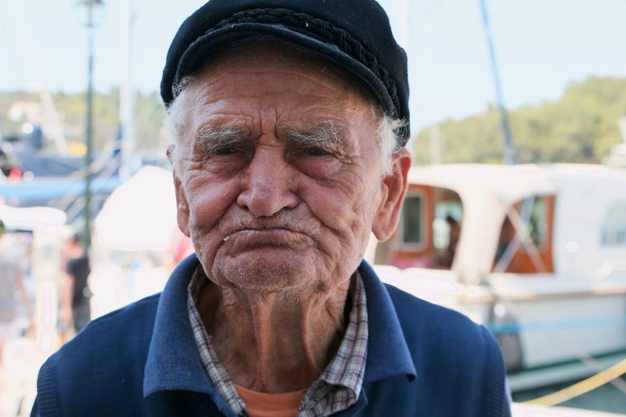 Pescador Corfu El Turismo Grecia