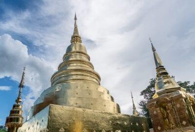 Phra Wat Templo Chiang Mai Tailandia