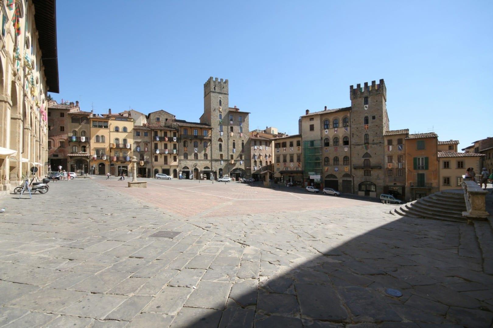 Piazza Grande - Centro histórico de Arezzo Arezzo Italia