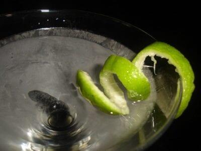 ¡Piensa fuera de la aceituna! Elija entre un montón de martinis creativos en el salón del vestíbulo de Fairmont. San José CA Estados Unidos