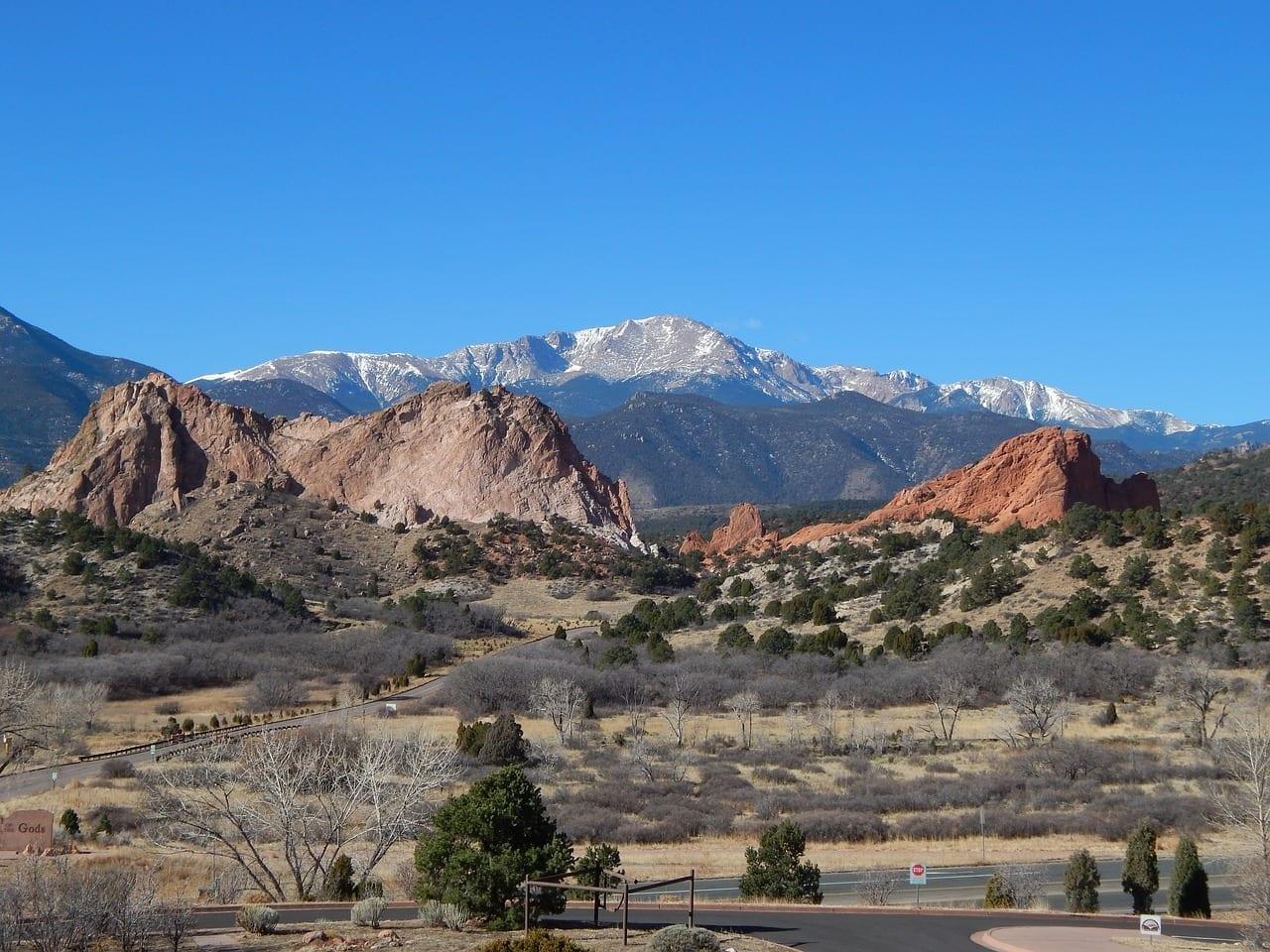 Pikes Peak Colorado Colorado Springs Estados Unidos