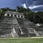 Pirámide Palenque Antigua México