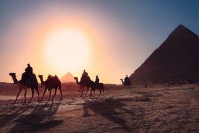 Pirámides El Cairo Egipto Egipto