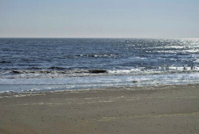 Playa Atlantic City Océano Estados Unidos
