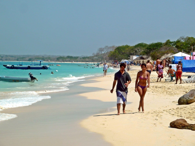 Playa Blanca Cartagena de Indias Colombia
