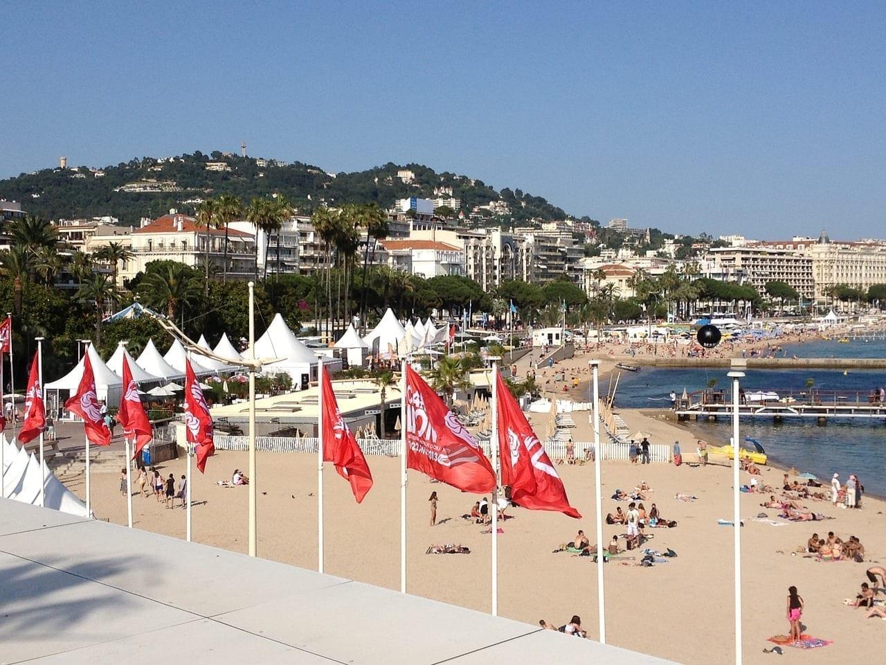 Playa Cannes Festival Francia
