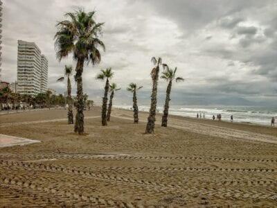 Playa De San Juan Alicante Cabo De Las Huertas España