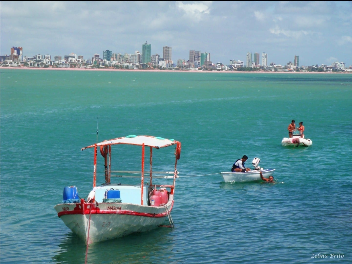 Playa de Tambaú Joao Pessoa Brasil