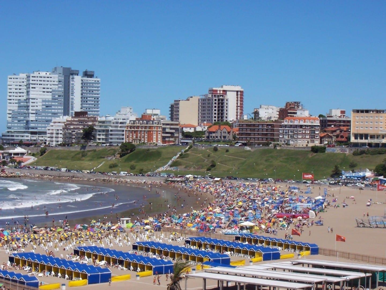 Playa en Mar del Plata Mar del Plata Argentina