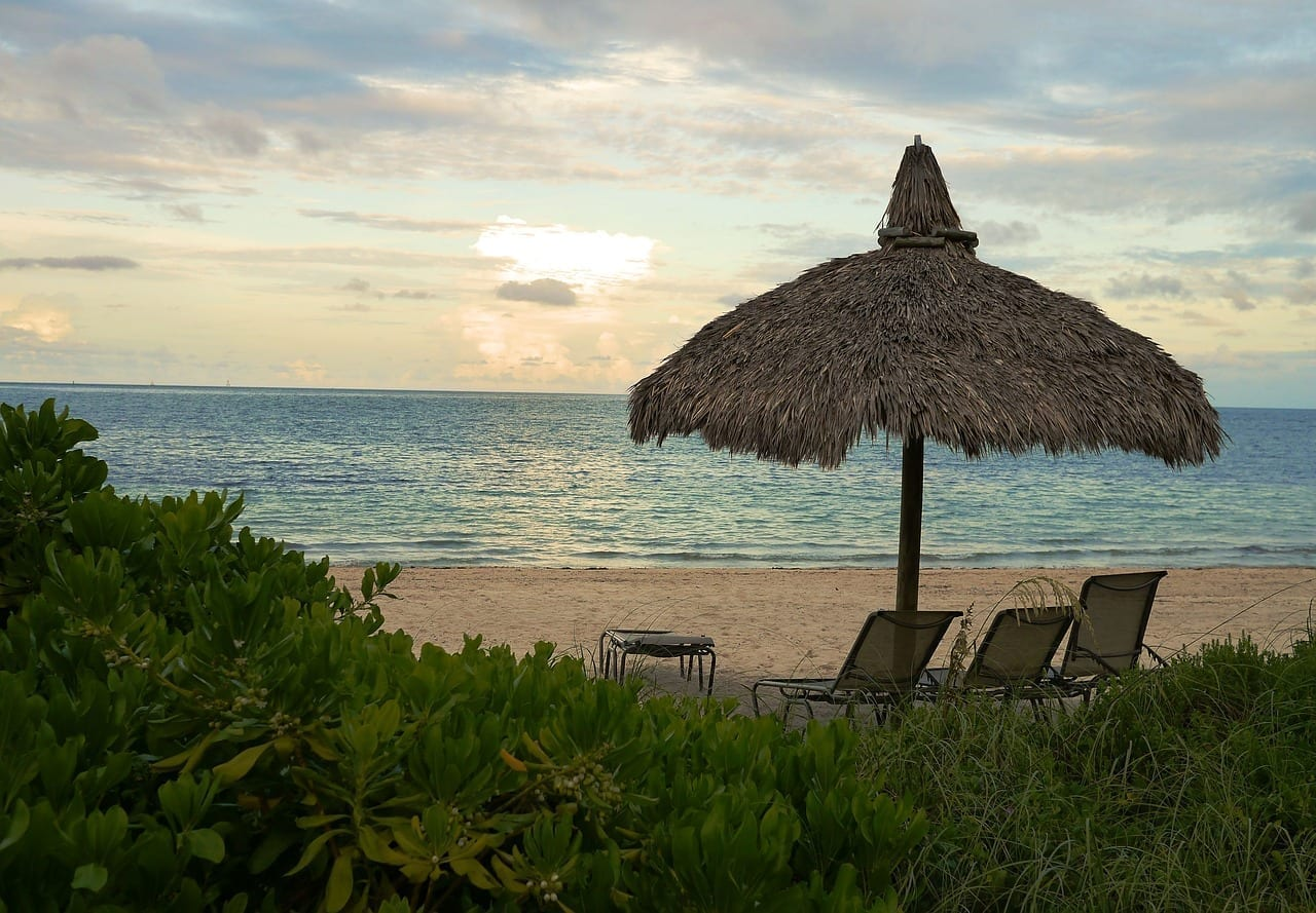 Playa Miami Beach Océano Estados Unidos