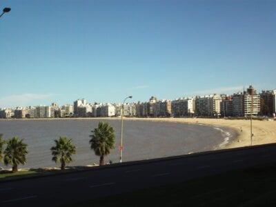 Playa Pocitos - Pocitos beach Montevideo Uruguay