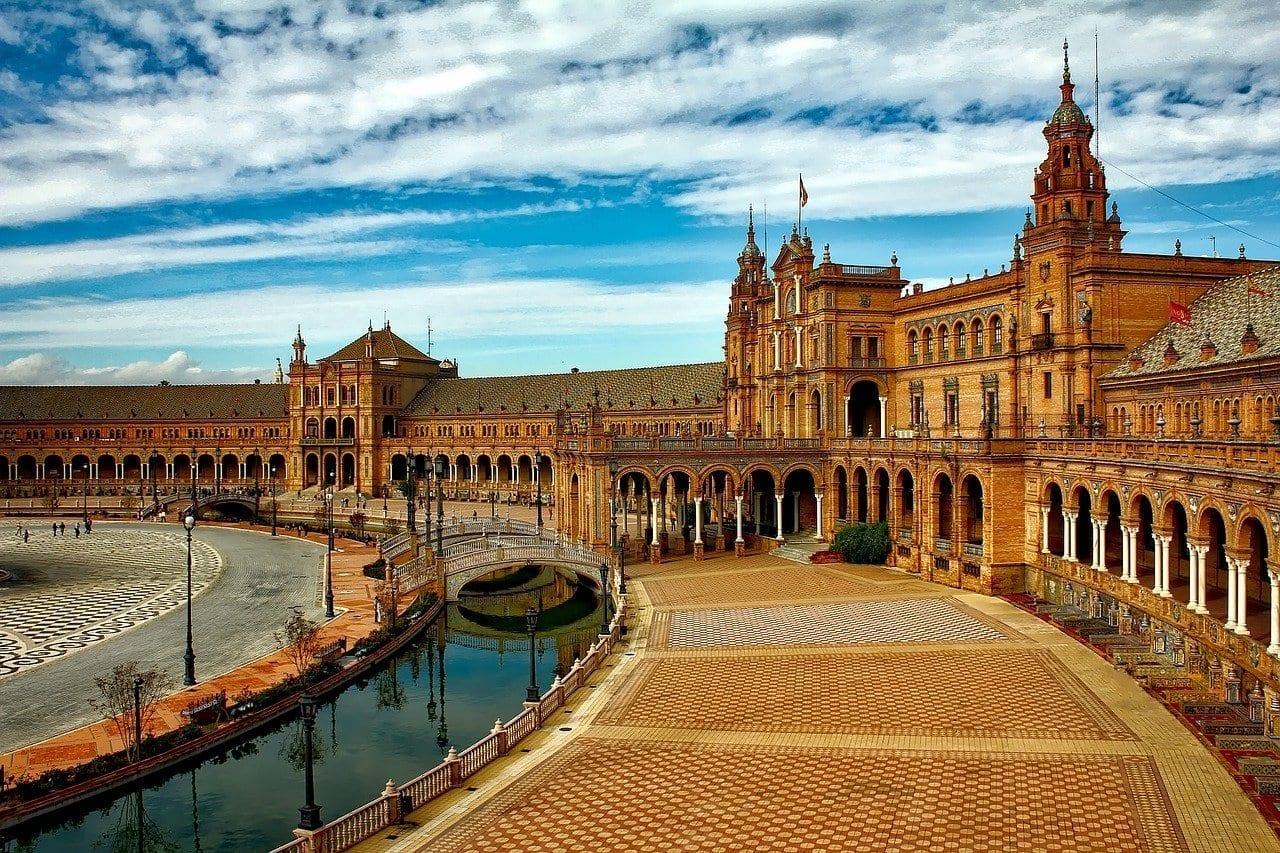 Plaza De España Sevilla España España
