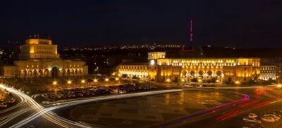 Plaza de la República Ereván Armenia