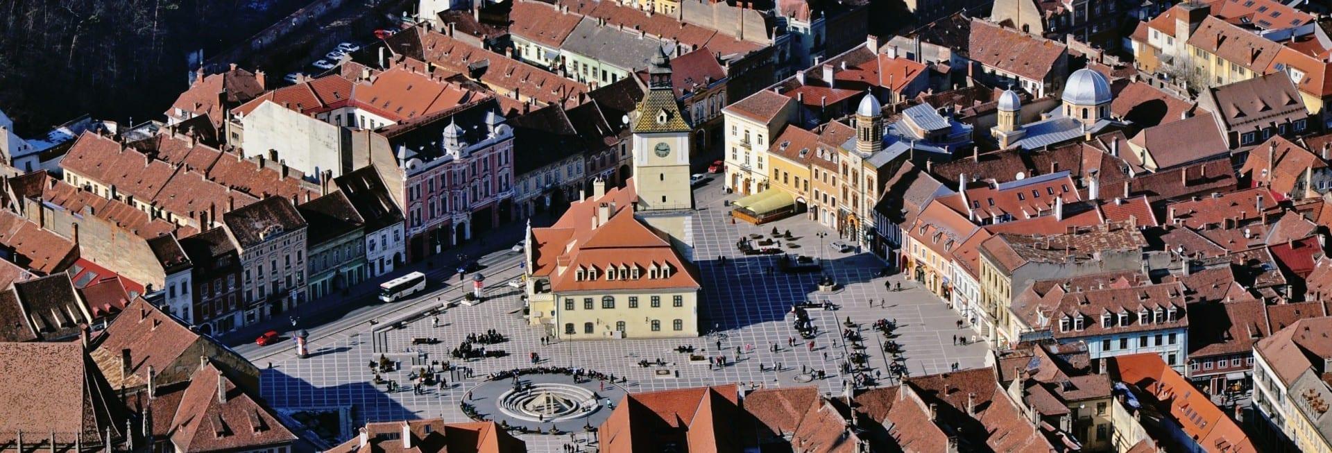 Plaza del Consejo (Piața Sfatului) Brasov Rumania