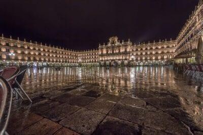 Plaza Salamanca Nocturna España