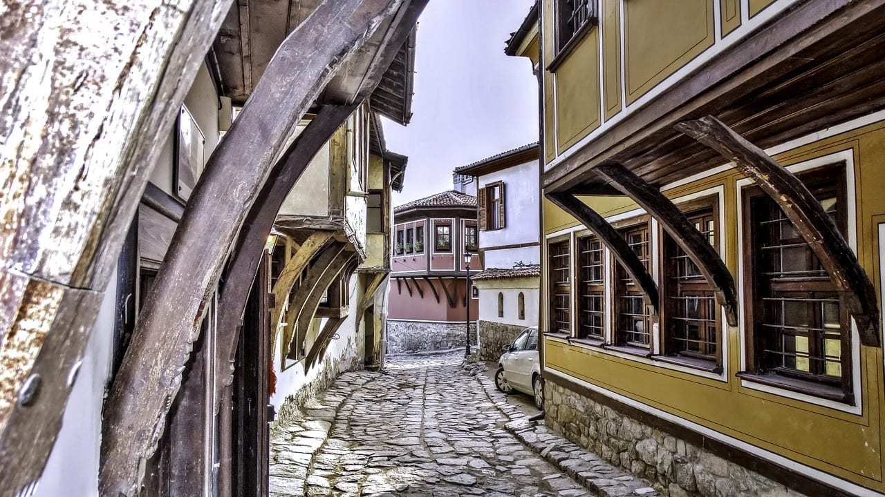 Plovdiv Casco Antiguo Bulgaria Bulgaria