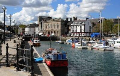 Plymouth Hoe Devon Reino Unido