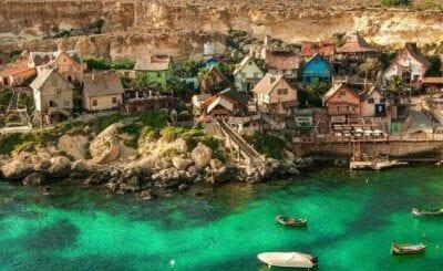 Popeye Village Malta Arquitectura Malta