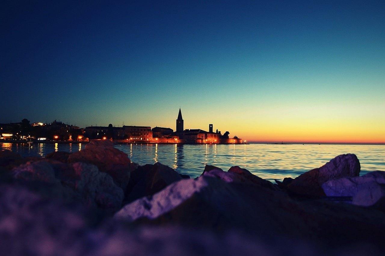 Porec Croacia Verano Croacia