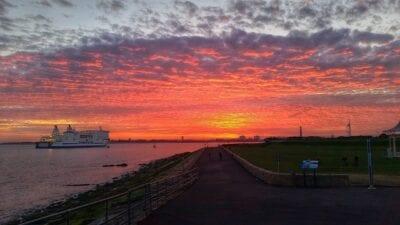Portsmouth Barco Sol Reino Unido