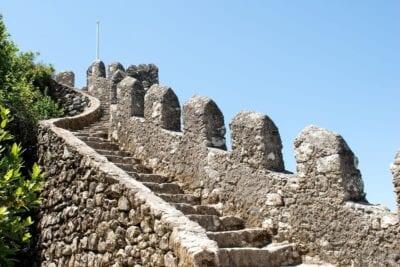 Portugal Sintra Castillo Portugal