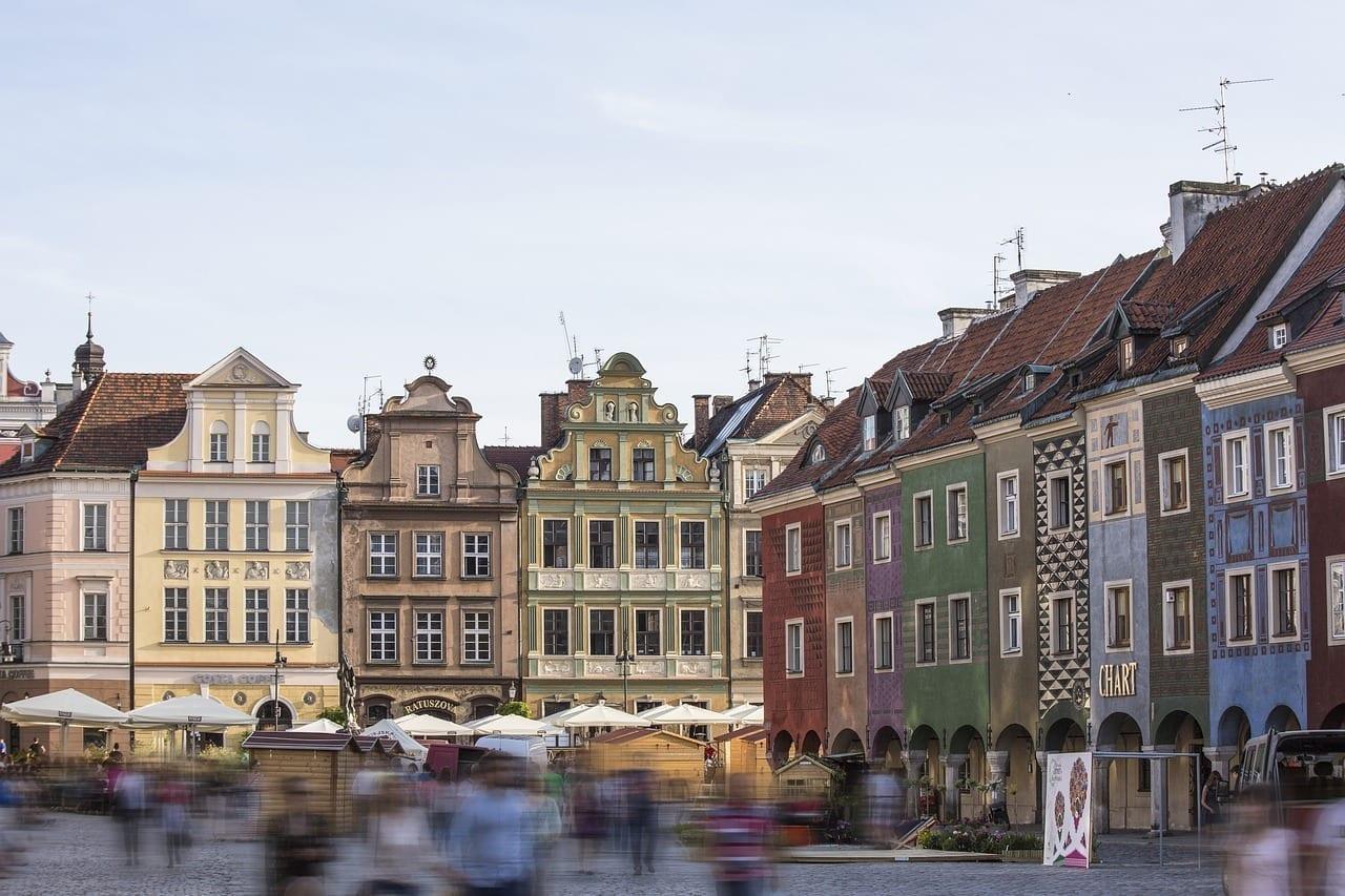 Poznan Centro De La Ciudad Históricamente Polonia