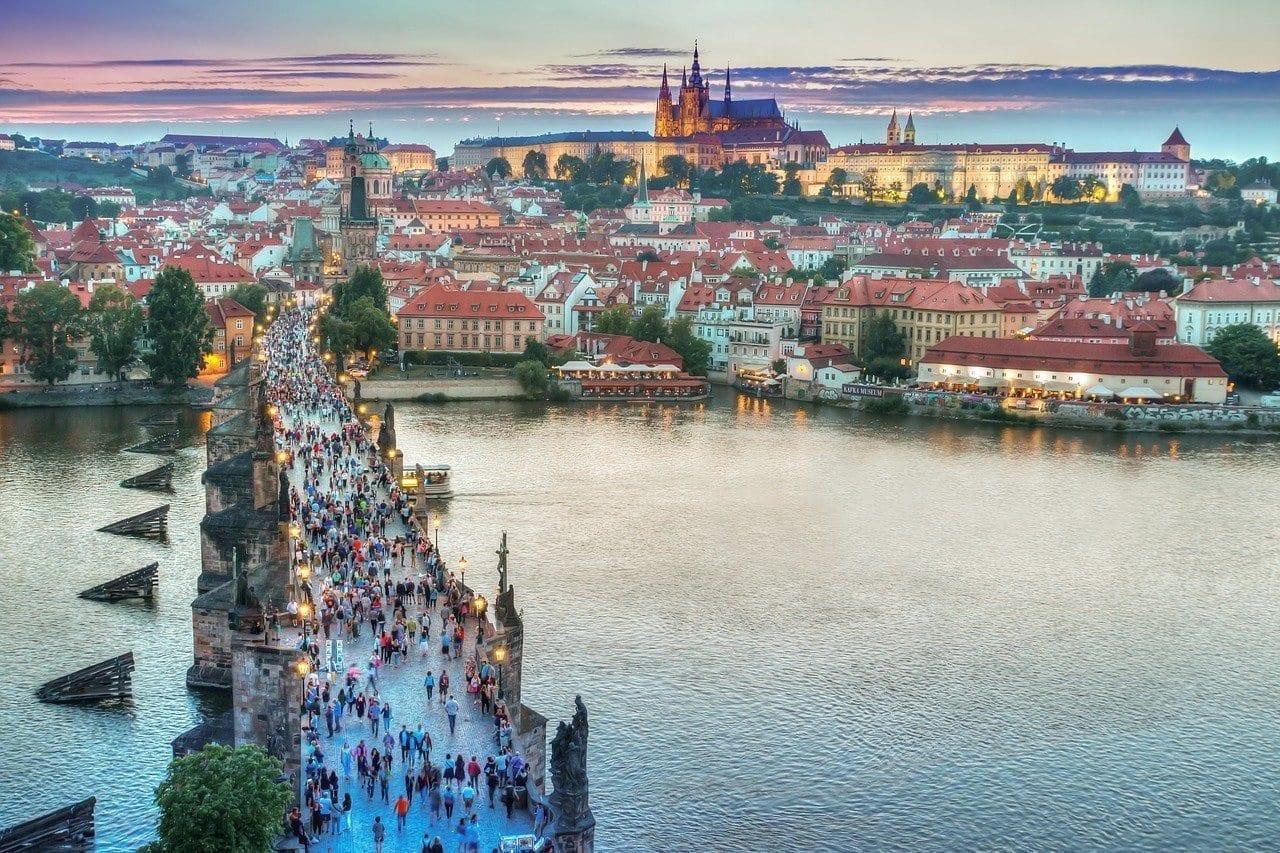 Praga Arquitectura Puente República Checa