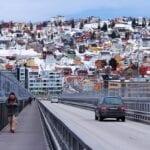 Puente De Tromso Impresionante Escénico Noruega