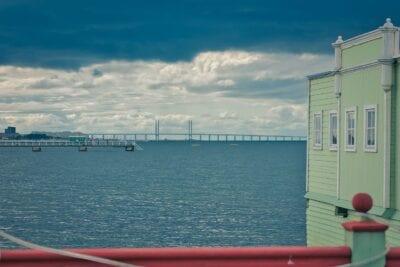 Puente Puente De öresund Malmo Suecia